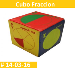 Cubo Fraccion Estimulacion Temprana  PRIMERDI INTQUIETOYS