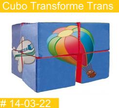 Cubo Transforme Transporte Estimulacion Temprana  PRIMERDI INTQUIETOYS
