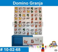 Domino Granja MATERIAL DIDACTICO MADERA INTQUIETOYS PRIMERDI