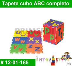 Tapete cubo ABC completo MATERIAL DIDACTICO FOAMY  INTQUIETOYS PRIMERDI