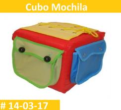 Cubo Mochila Estimulacion Temprana  PRIMERDI INTQUIETOYS