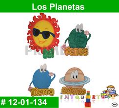 Los Planetas MATERIAL DIDACTICO FOAMY  INTQUIETOYS PRIMERDI