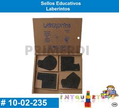 Sellos Educativos MATERIAL DIDACTICO MADERA INTQUIETOYS PRIMERDI