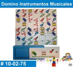 Domino Instrumentos Musicales MATERIAL DIDACTICO MADERA INTQUIETOYS PRIMERDI