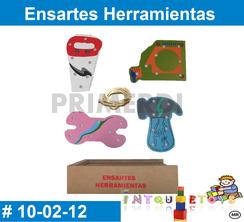 Ensartes Herramientas Material didactico Madera PRIMERDI INTQUIETOYS
