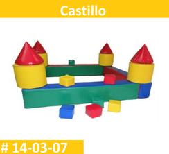 Castillo Vinil Estimulacion Temprana  PRIMERDI INTQUIETOYS