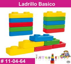 Ladrillo Basico MATERIAL DIDACTICO PLASTICO INTQUIETOYS PRIMERDI