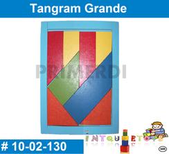 Tangram Grande MATERIAL DIDACTICO MADERA INTQUIETOYS PRIMERDI