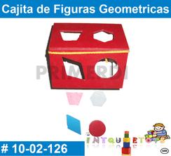 Cajita de Figuras Geometricas MATERIAL DIDACTICO MADERA INTQUIETOYS PRIMERDI