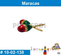 Maracas MATERIAL DIDACTICO MADERA INTQUIETOYS PRIMERDI