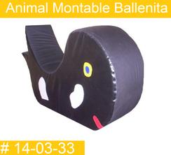 Animal Montable Ballenita  PRIMERDI INTQUIETOYS