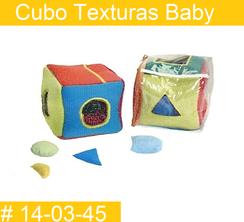 Cubo Texturas Baby Estimulacion Temprana  PRIMERDI INTQUIETOYS