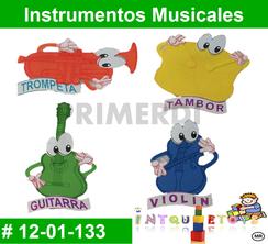 Instrumentos Musicales MATERIAL DIDACTICO FOAMY  INTQUIETOYS PRIMERDI