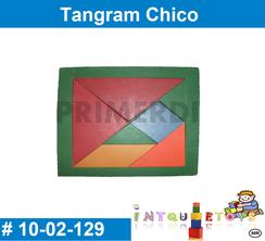 Tangram Chico MATERIAL DIDACTICO MADERA INTQUIETOYS PRIMERDI