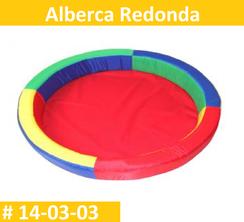 Alberca Redonda Vinil Estimulacion Temprana PRIMERDI INTQUIETOYS