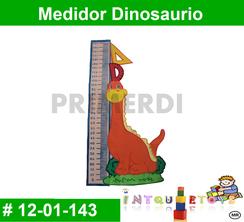 Medidor Dinosaurio MATERIAL DIDACTICO FOAMY  INTQUIETOYS PRIMERDI