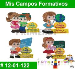 Mis Campos Formativos MATERIAL DIDACTICO FOAMY  INTQUIETOYS PRIMERDI