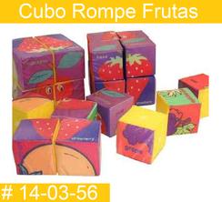 Cubo Rompe Frutas Estimulacion Temprana PRIMERDI INTQUIETOYS
