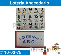 Loteria MATERIAL DIDACTICO MADERA INTQUIETOYS PRIMERDI