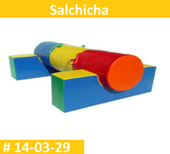 Salchicha Vinil Estimulacion Temprana  PRIMERDI INTQUIETOYS