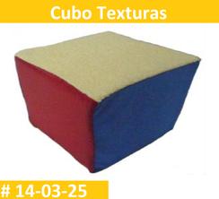 Cubo Texturas Estimulacion Temprana  PRIMERDI INTQUIETOYS