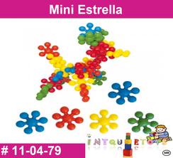 Mini Estrella MATERIAL DIDACTICO PLASTICO INTQUIETOYS PRIMERDI