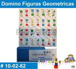 Domino Figuras Geometricas MATERIAL DIDACTICO MADERA INTQUIETOYS PRIMERDI