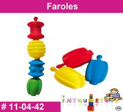 Faroles MATERIAL DIDACTICO PLASTICO INTQUIETOYS PRIMERDI