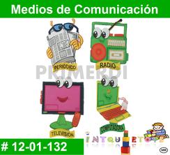 Medios de Comunicación MATERIAL DIDACTICO FOAMY  INTQUIETOYS PRIMERDI