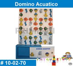 Domino Acuatico MATERIAL DIDACTICO MADERA INTQUIETOYS PRIMERDI