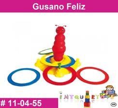 Gusano Feliz MATERIAL DIDACTICO PLASTICO INTQUIETOYS PRIMERDI