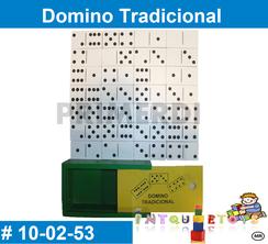 Domino Tradicional MATERIAL DIDACTICO MADERA INTQUIETOYS PRIMERDI