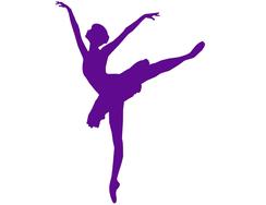 Wandtattoo Wandaufkleber Wandsticker günstig online kaufen  Ballerina Tänzerin Ballett Tanz Mädchen Kinderzimmer Mädchenzimmer