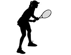 Wandtattoo Wandaufkleber Wandsticker günstig online kaufen  Mädchenzimmer Mädchen Zimmer Kinderzimmer Baby Kind Tennis Sport Tennisspielerin
