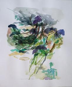 20.9.10 2010 69 x 57,5 cm Aquarell / Papier