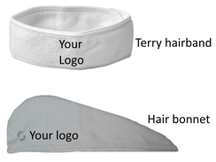 promotional-Terry-headband-hairbonnet-Stretchable Spa Headband