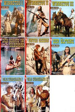 8 Sonderausgaben von Romanheften im Kelter-Verlag