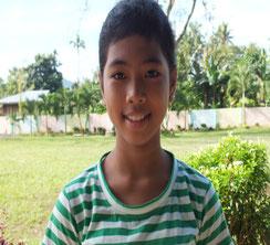 チェリー・アン・ベンペサールさん(11歳) キャビディアナン小学校