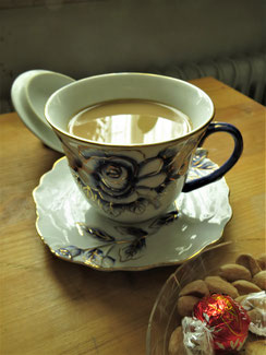 Meine Kaffeetasse, Erinnerung ans Nougatine
