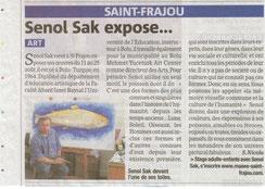 Senol Sak, La Gazette 16/8/2012