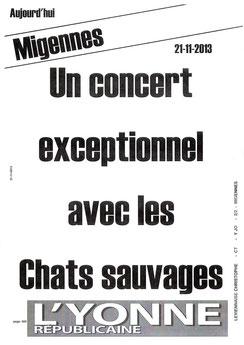 Poster publié par l'Yonne Républicaine