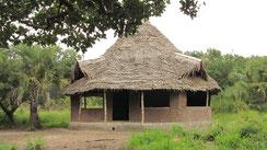 traditionelle Bauweise (Rundbau)