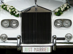 Geschenkidee Limousinen-Service zur Hochzeit