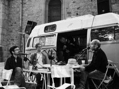 Ouverture du festival à la radio