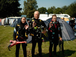 Lea, Harald und Wiebke
