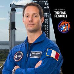 Thomas Paesquet, astronaute de l'ESA.
