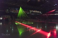 Lasershow, EHCB, EHC Biel-Bienne, Tissot Arena, Biel, Bienne, Eishockey, Playoff, Halbfinal, www.danielkneubuehl.com, Photographer/Fotograf: Daniel Kneubühl