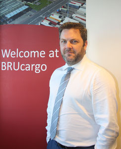 "Cargo Chief Steven Polmans is the ""father"" of cloud computing at Brussels Airport  -  photo: hs"
