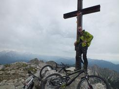 Gipfelkreuz Soiernspitze