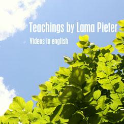 Vidéos des cours par Lama Pieter